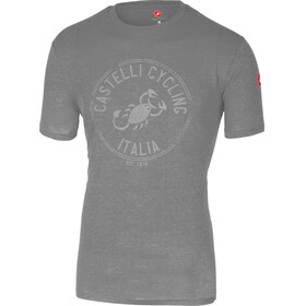 Castelli Armando T-Shirt Men melange light gray